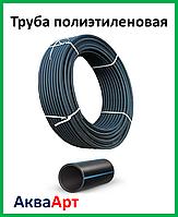 Труба полиэтиленовая черн/син PN 6 50