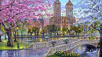 Картина по номерам Турбо VP296 Весна в парке