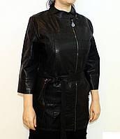 Куртка из кожзама для женщин