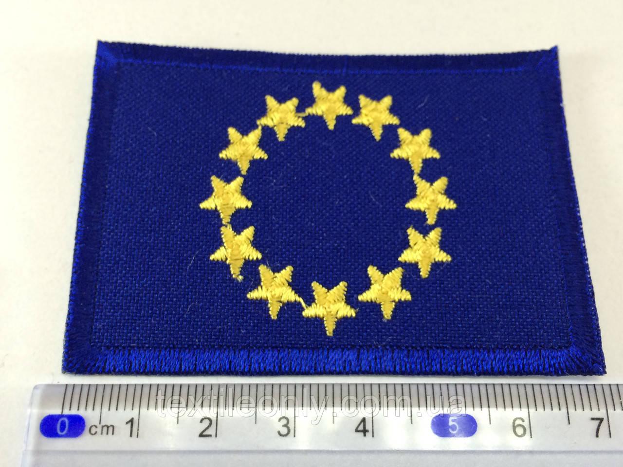 Нашивка прапор Євро союз (Euro union)