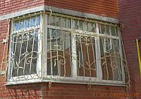 Кованые ограждения на окна