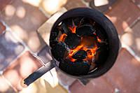 Стартер для розжига углей «Кружка» Ø170х275мм от производителя из стали с антикоррозийным покрытием