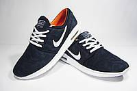 Мужские повседневные кроссовки Nike, сетка, синие, Р. 43 46