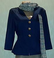 Пиджак женский с шарфиком