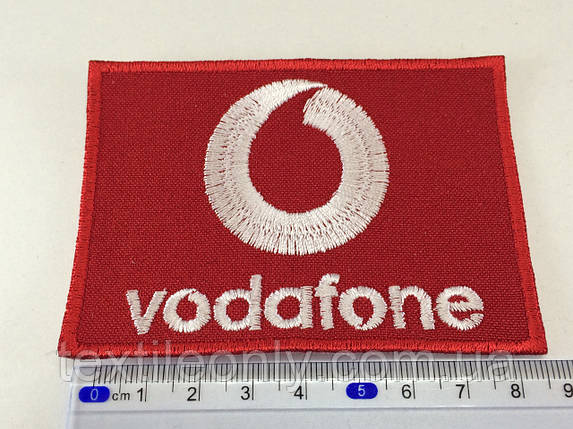 Нашивка Vodafone , фото 2