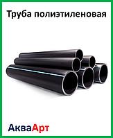 Труба полиэтиленовая черн/син PN 10 40