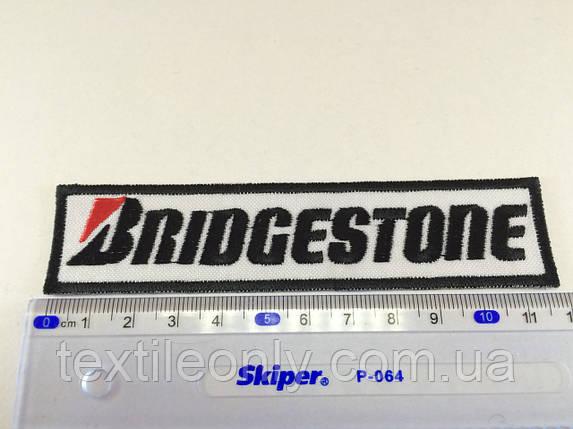 Нашивка Bridgestone, фото 2