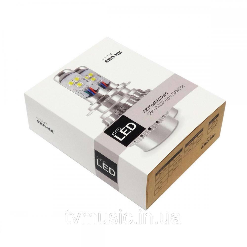 LED лампа Sho Me G1.1 H3 6000K 30W
