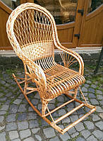 """Кресло-качалка из лозы """"Комфорт"""", фото 1"""