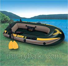 Надувная лодка Intex 68347 Seahawk 2 Set+