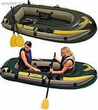 Надувная лодка Intex 68347 Seahawk 2 Set+, фото 2