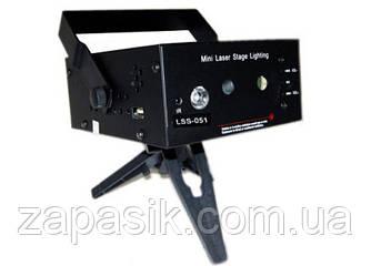 Лазерная Музыкальная Установка Проектор LSS 051 am