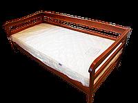 Кровать-тахта Мальва массив белая