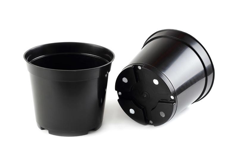 Горшок для рассады черный 3 л