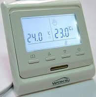 Программируемый термостат для теплого пола Woks M 6.716