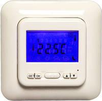 Программируемый терморегулятор с большим экраном для теплого пола iREG T4 (японское реле)