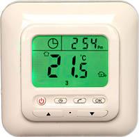Программируемый терморегулятор с большим экраном для теплого пола iREG S4 (японское реле)