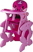 Caretero Стульчик для кормления Caretero Primus  розовый
