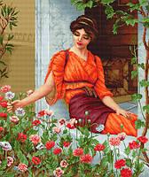 G474 Летние цветы. Luca-S. Набор для вышивания нитками (гобелен)