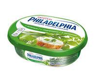Сливочный крем-сыр с зеленью Филадельфия травы / Philadelphia Krauter,175gr