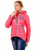"""Демисезонная розовая куртка """"Дана"""", фото 1"""