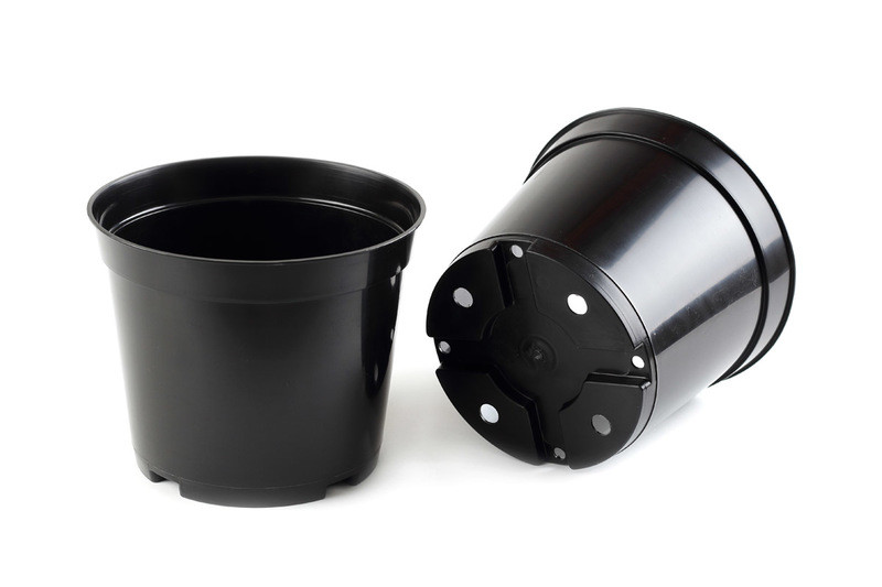 Горшок для рассады черный 25 л