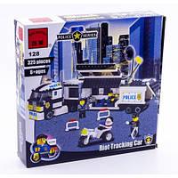 Конструктор детский Brick Полицейский Фургон 128