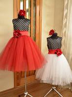 Детское платье - прокат, + украшение обруч.