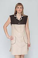 Халат для продавца,униформа,халат рабочий,пошив рабочей одежды под заказ