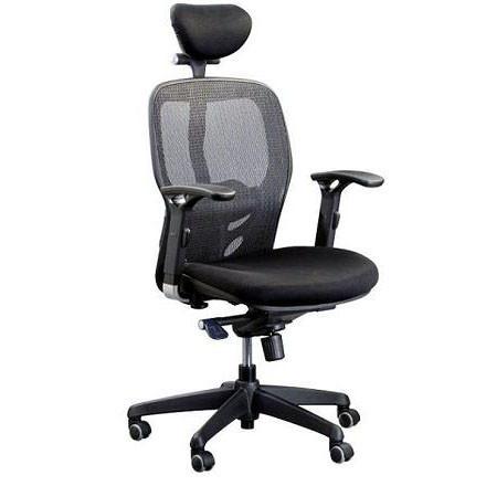Кресло компьютерное с подголовником Enrandnepr Кураж черный
