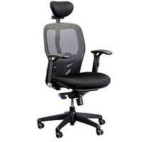 Ортопедическое кресло для компьютера с подголовником Кураж