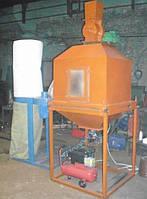 Охладитель гранул и пеллет (противоточного типа) 4 кВт, 380 В, 500 кг/час
