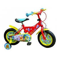 "Детский велосипед STAMP Winnie The Pooh 12"" (red-yellow)"