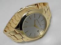 Мужские часы  Michael Kors - gold, корпус золотистый циферблат серебристый