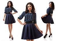 Платье женское штапельное № 7044 62 Эл
