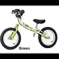 Детский беговел Yedoo TOO TOO B (green light), велокат зеленый