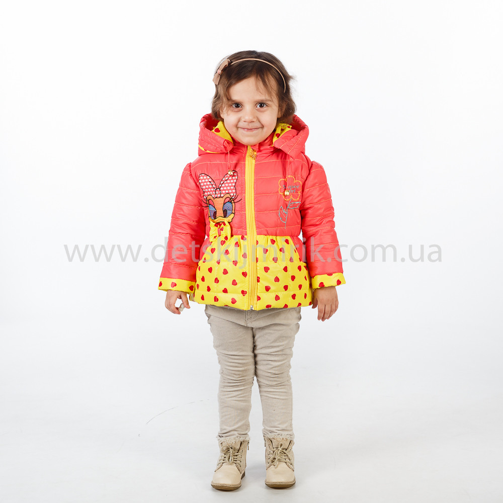 Курточка на девочку весна