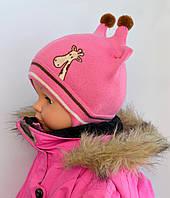Детская шапка для малышей с ушками, фото 1