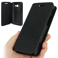 Чехол Книжка Original Cover Leather Case для Asus Zenfone 4 A400CXG Black