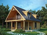 Построить дачный дом из дерева под ключ недорого