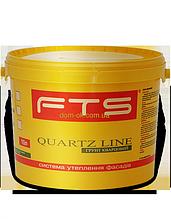 Грунт под декоративные штукатурки FTS/ФТС силиконовый Quartz Line Ведро 5л.