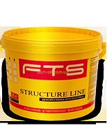Штукатурка  FTS/ФТС силиконовая Structureline короед, барашек Баранек 1,5мм.