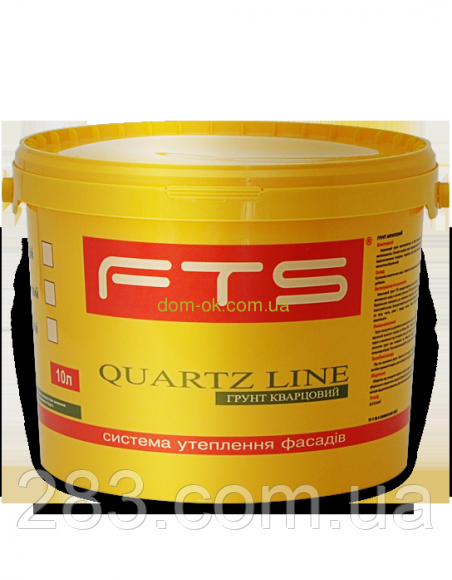 Грунт  FTS/ФТС акриловий Quartz Line Ведро 10л.