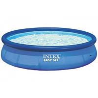 Надувной бассейн Intex 28143 Easy Set Pool, 396х84 см