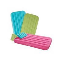 Надувной матрас Intex 66801 с подушкой для детей Intex 88х157х18 см