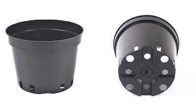 Горщик для розсади 5л 22х18см, чорний