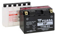 Аккумулятор для мотоцикла гелевый YUASA YT9B-BS 21Ah 205x87x162