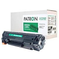 Картридж PATRON HP LJ CB435A/CANON 712 GREEN Label (PN-35A/712GL)