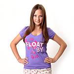 Модные женские футболки: чем больше тем лучше