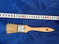 Кисть флейцевая, деревянная ручка 36 мм (Европейка)